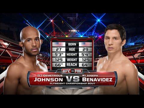 UFC 197 Free Fight: Demetrious Johnson Knocks Out Joseph Benavidez in Rematch