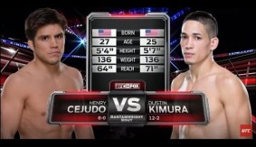 UFC 197 Free Fight: Henry Cejudo's UFC Debut Against Dustin Kimura