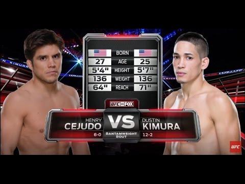 UFC 197 Free Fight: Henry Cejudo's UFC Debut Against Dustin Kimura