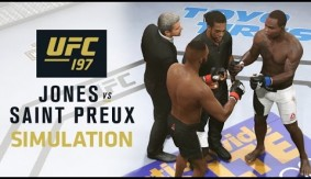 UFC 197: Jones Beats Down Saint Preux in EA Sports UFC 2