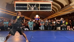 UFC 197: Open Workout Highlights
