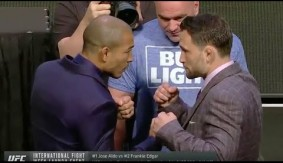 UFC 200: International Fight Week Launch Event Face-offs