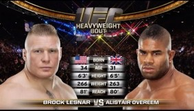 UFC Fight Night Rotterdam Free Fight: Alistair Overeem Sends Brock Lesnar Back to Pro Wrestling