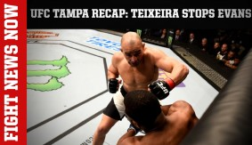 UFC Fight Night Tampa Recap: Teixeira KOs Evans on Fight News Now