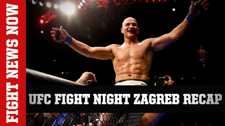 UFC Fight Night Zagreb Recap: dos Santos & Lewis with Big Wins on Fight News Now