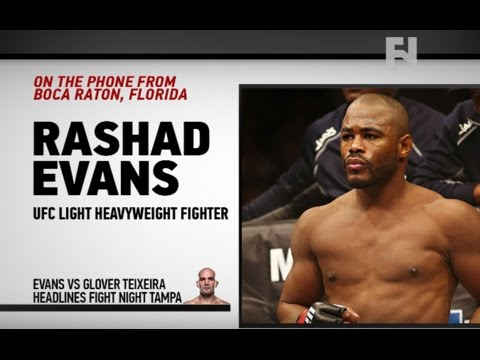 "UFC Tampa: Rashad Evans – ""This Is the Best Thrill on Earth, It's Called a Fight"""