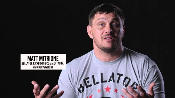 Video – Bellator 152: Matt Mitrione Talks Bellator Kickboxing