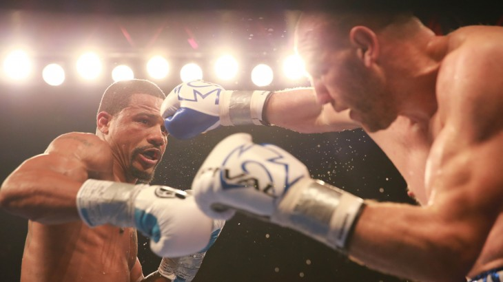 Video Highlights & Full Results – Dirrell Overcomes Knockdown to Decision Caparello at PBC on Spike
