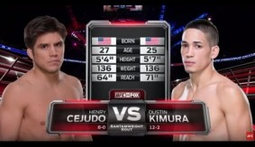 Video – UFC 197 Free Fight: Henry Cejudo vs. Dustin Kimura