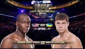 Video – UFC 197 Free Fight: Ovince Saint Preux vs. Nikita Krylov