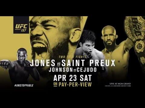 Video – UFC 197: Jones vs. St. Preux – Extended Preview