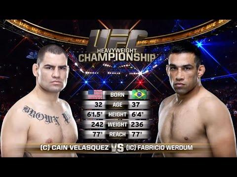 Video – UFC 198 Free Fight: Fabricio Werdum vs. Cain Velasquez