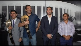 Video – UFC 199: Rockhold, Weidman, Cruz & Faber Visit The Forum