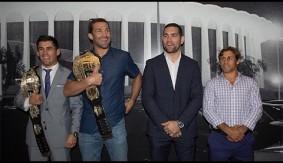 Video – UFC 199: Rockhold, Weidman, Cruz & Faber Visit The Forum