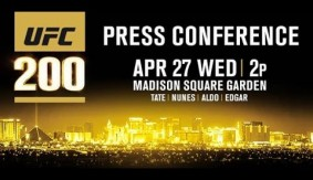 Watch LIVE at 2 p.m. ET – UFC 200 Tickets On Sale Press Conference w/ Tate, Nunes, Aldo, Edgar in NYC