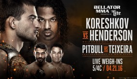 Watch Live Thurs. at 5:00 p.m. ET – Bellator MMA 153: Official Weigh-in