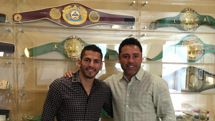 WBC Lightweight Champ Jorge Linares Signs New Multi-Year Deal with Golden Boy Promotions