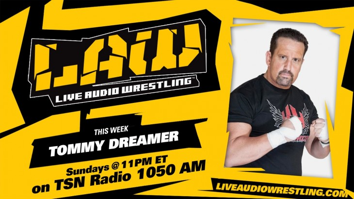 May 8 Edition of Live Audio Wrestling feat. Tommy Dreamer, ROH Global Wars