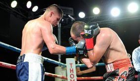 Danny Roman Retains NABA Super Bantamweight Title; Stops Christian Esquivel in Round 5