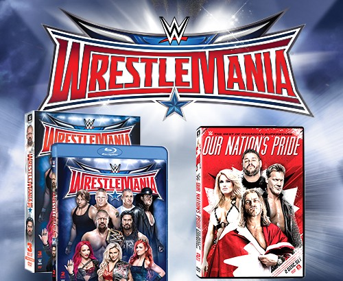 Win DVD Copies of WrestleMania 32 & WWE Our Nation's Pride