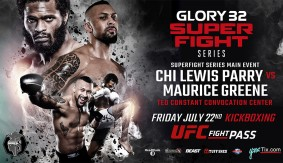 Chi Lewis-Parry vs. Maurice Greene Headlines GLORY 32 SuperFight Series on July 22
