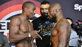 Bellator 154: Davis vs. King Mo Weigh-in Results & Photos