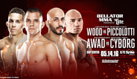 Cyborg vs. Awad & Piccolotti vs. Wood Added to Bellator 154 on May 14 in San Jose