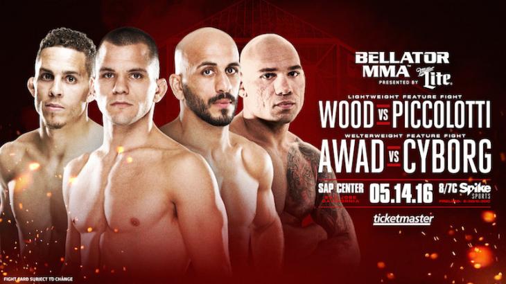 Cyborg vs. Awad & Piccolotti vs. Wood Added to Bellator 154 on May 14 in San Jose