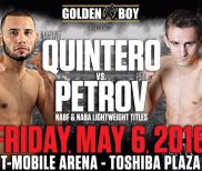 Golden Boy: Quintero vs. Petrov LIVE Friday at 9 p.m. ET on Fight Network