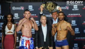 GLORY 30 Los Angeles & SuperFight Series Weigh-in Results & Photos