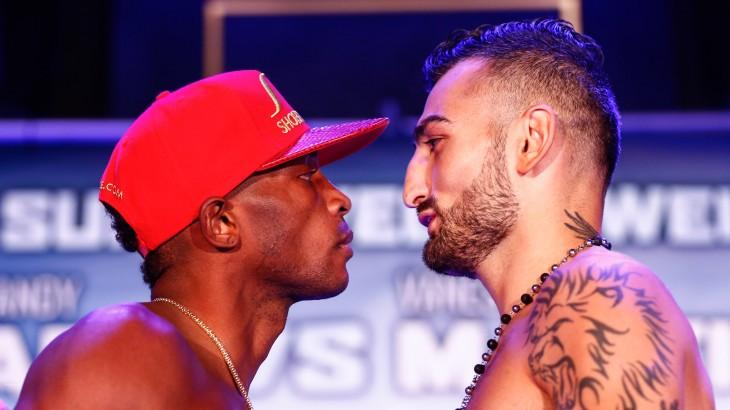 Showtime Boxing: Lara vs. Martirosyan Weigh-in Results & Photos