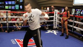"Lemieux-Tapia, Herrera-Gomez, Teixiera-Stevens, Quigley, De La Hoya Media Workout – ""Boxing's a Game of Surprises"""