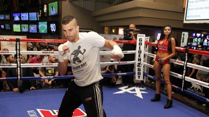 "Lemieux-Tapia, Herrera-Gomez, Teixiera-Stevens, Quigley, De La Hoya Media Workout – ""Boxing's a Game of Surprises"""