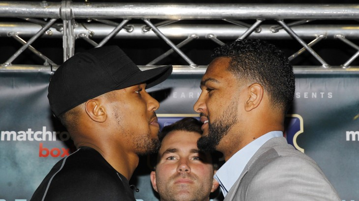 """Anthony Joshua vs. Dominic Breazeale Kickoff Press Conference – """"You're Not a Real Deal Until You Fight in the States"""""""