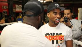 Shawn Porter vs. Keith Thurman – Who's Going To Buy Bottles For Charlamagne After Porter Sparring Session?
