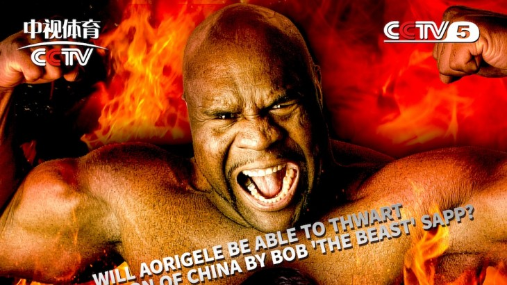 Bob Sapp vs. Aorigele Openweight Main Event Set for ROAD FC 032 on July 2 in China