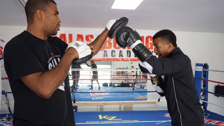 """Rances Barthelemy & Mickey Bey Training Camp Quotes & Photos – """"I Saw Him Fight For My Vacant Belt"""""""
