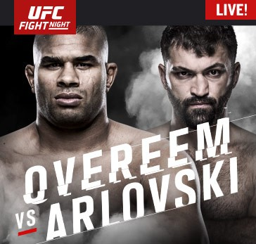 UFC Fight Night: Overeem vs. Arlovski Prelims Live Sunday at 12 p.m. ET on Fight Network