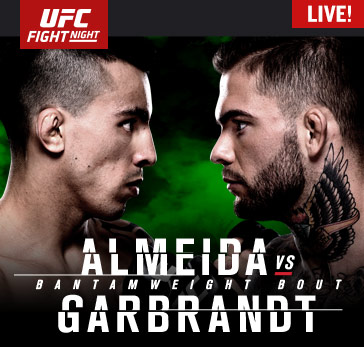 UFC Fight Night: Almeida vs. Garbrandt Prelims Live Sunday at 7 p.m. ET on Fight Network