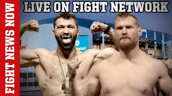 Andrei Arlovski vs. Josh Barnett at UFC Fight Night Hamburg, Werdum vs. Rothwell on Fight News Now