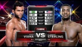 Bryan Caraway Chokes Erik Perez, Aljamain Sterling Beats Down Hugo Viana in UFC Fight Night Las Vegas Free Fights
