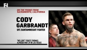 "Cody Garbrandt on Thomas Almeida, T.J. Dillashaw & More – ""He Was Padding His Record"""