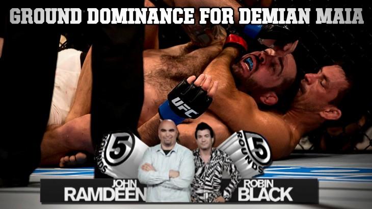 Demian Maia Dominates Matt Brown at UFC 198 on 5 Rounds