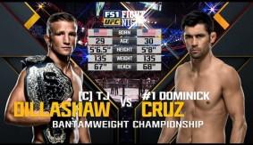 Dominick Cruz vs. T.J. Dillashaw from UFC Fight Night Boston – Full Fight