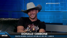 Donald Cerrone Talks Conor McGregor, Welterweight Bouts, Skydiving with Bas Rutten & Ron Kruck