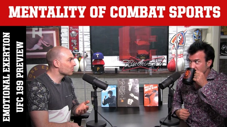 Emotional Exertion, UFC 199: Rockhold vs. Bisping 2 & Cruz vs. Faber 3 on Mentality of Combat Sports