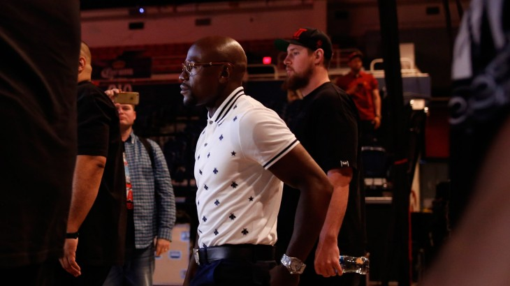 "Floyd Mayweather: ""If I Came Back, Of Course It'd Have to Be For a 9-figure Payday"""