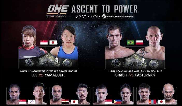 Bigdash Off ONE: Ascent to Power with Injury, Gracie-Pasternak Inaugural LHW Title Bout Added