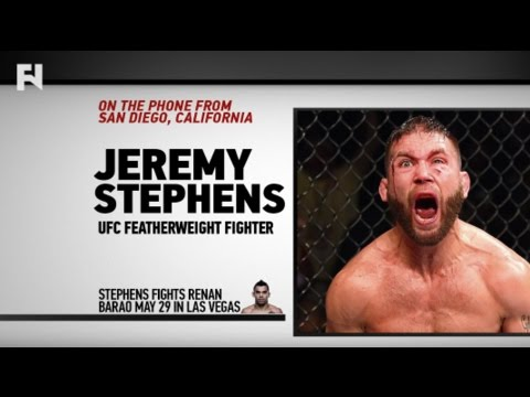 Jeremy Stephens Speaks on 'Mentally Broken' Renan Barao Ahead of UFC Vegas