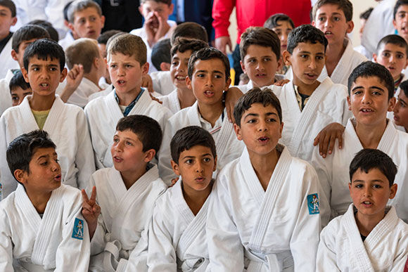 "IJF Judo For The World: Turkey-Syria Border Refugee Camp – ""New Opportunities Arise From The Worst of Situations"""